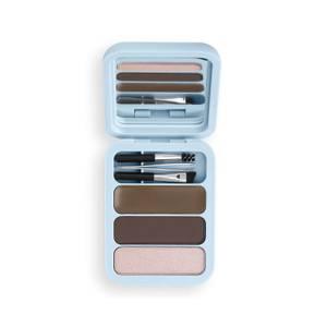 Makeup Obsession Brow Goals Brow Kit - Medium/Dark Brown