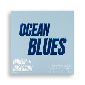 Makeup Obsession Eye Shadow Palette - Ocean Blues