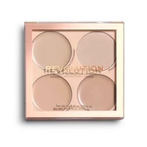Makeup Revolution Matte Base Concealer Kit - C1-C4