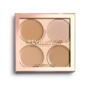 Makeup Revolution Matte Base Concealer Kit - C5-C8