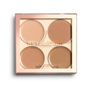 Makeup Revolution Matte Base Concealer Kit - C9-C12