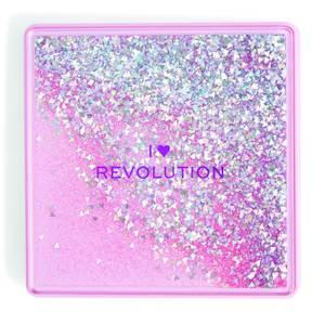 I Heart Revolution One True Love Glitter Eye Shadow Palette