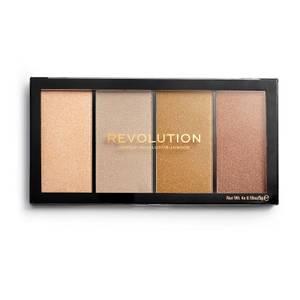 Makeup Revolution Reloaded Lustre Face Palette - Lights Heatwave