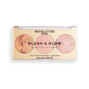 Revolution Pro Blush & Glow Palette - Peach Glow