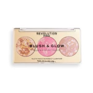 Revolution Pro Blush & Glow Palette - Rose Glow
