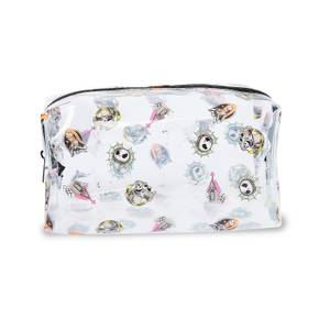 Makeup Revolution X Disney Nightmare Before Christmas Cosmetic Bag - Clear