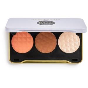 Makeup Revolution X Patricia Glow Face Palette - Bright Moonlight