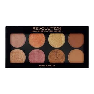 Makeup Revolution Ultra Blush, Bronze & Highlight Face Palette - Golden Sugar 2