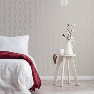 Boutique Pearl Marquise Geometric Wallpaper
