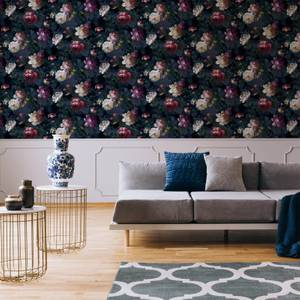Superfresco Easy Navy Isabelle Floral Wallpaper