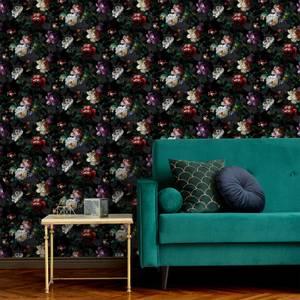 Superfresco Easy Black Isabelle Floral Wallpaper