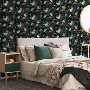 Superfresco Easy Teal Isabelle Floral Wallpaper