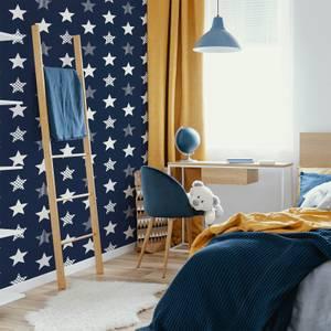 Superfresco Easy Navy Superstar Wallpaper