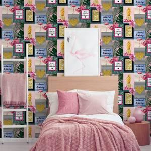 Fresco Island Living Wallpaper