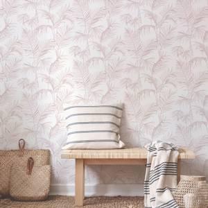 Superfresco Easy Litho Tropical Pink Wallpaper