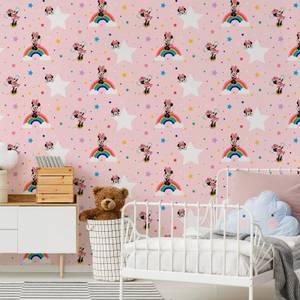 Disney Minnie Mouse Rainbow Multicolour Wallpaper