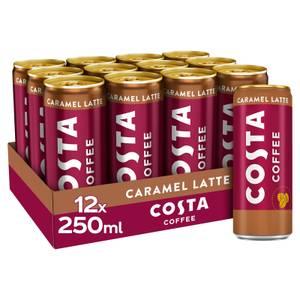 Costa Coffee Caramel Latte 12 x 250ml