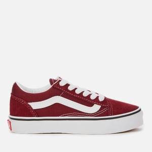 Vans Kids' Old Skool Trainers - Port Royale/True White