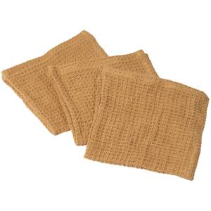 Broste Copenhagen Linen Dish Cloth - Set of 3 - Indian Tan