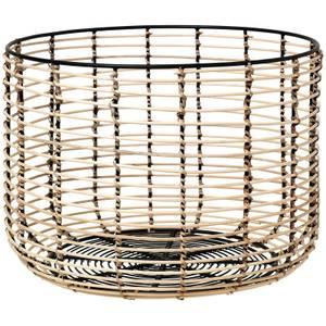 Broste Copenhagen Iron & Cane Basket - Large