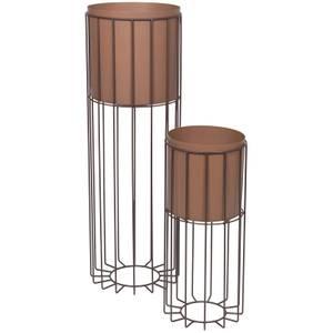 Broste Copenhagen Plant Stand - Set of 2 - Rustic