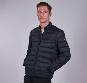 Barbour International Men's Seasons Baffle Quilt Jacket - Black