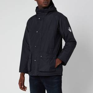 Barbour Beacon Men's Hooded Bedale Jacket - Navy