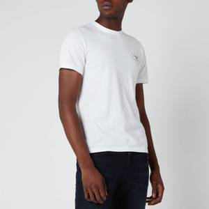 Barbour Beacon Men's Box Logo T-Shirt - White