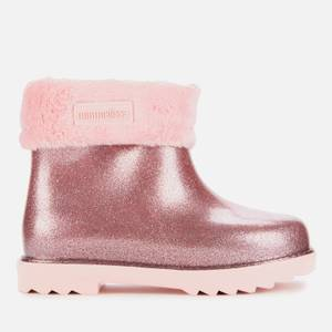 Mini Melissa Toddlers' Winter Boot - Pink Glitter