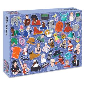 90s Icons Jigsaw Puzzle (500 Pieces)