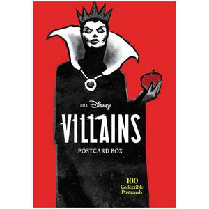 Disney Villains: 100 Collectible Postcards