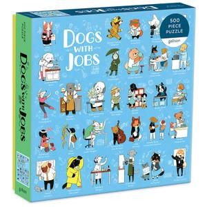 Dogs with Jobs Jigsaw Puzzle