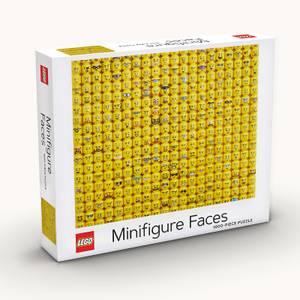 LEGO® Minifigure Faces 1000-Piece Puzzle