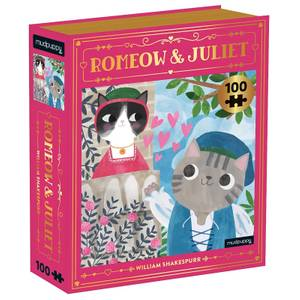 Romeow & Juliet Bookish Cats Puzzle (100 Pieces)