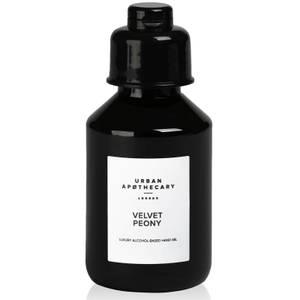 Urban Apothecary Velvet Peony Luxury Hand Sanitiser Gel - 100ml
