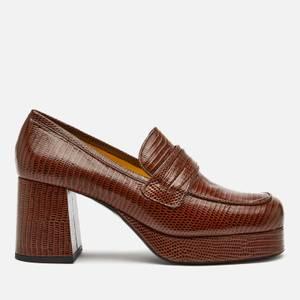 Simon Miller Women's Hustler Platform Loafers - Fox Tail Brown