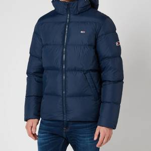 Tommy Jeans Men's Essential Down Jacket - Twilight Navy