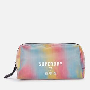 Superdry Women's Jelly Wash Bag - Rainbow Holographic