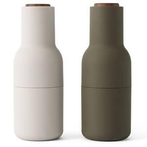 Menu Bottle Grinder - Green/Beige - Set of 2