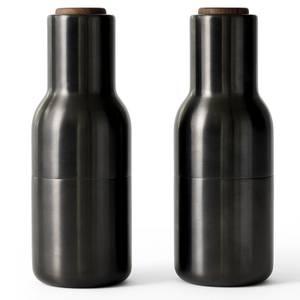 Menu Bottle Grinder - Bronzed Brass - Set of 2