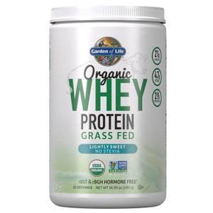Whey Protéine Biologique - Légèrement Sucré - 480.5g