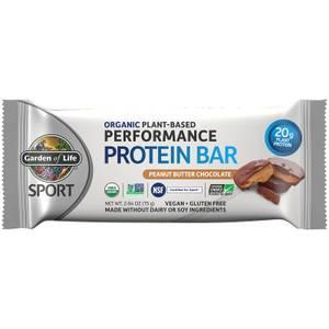 Barretta proteica biologica a base vegetale sport - burro di arachidi e cioccolato - 12 barrette