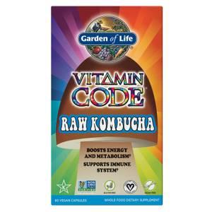 Garden of Life Vitamin Code Raw Kombucha - 60 Capsules