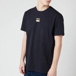 BOSS Men's Tee 6 T-Shirt - Dark Blue