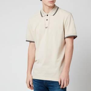BOSS Men's Pchup Polo Shirt - Open Beige