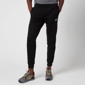 Emporio Armani EA7 Men's Small Logo Sweatpants - Black