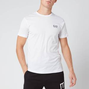 EA7 Men's Train Core Id Pima Crewneck T-Shirt - White