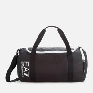 EA7 Men's Duffle Bag - Black/White
