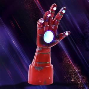 Lámpara de sobremesa Marvel Iron Man