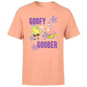 T-shirt Bob l'éponge Goofy Goober - Coral - Unisexe